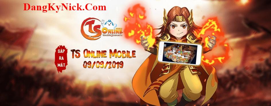 đăng ký nick ts online mobile 2019