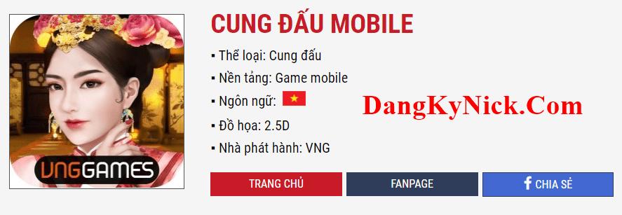 nạp thẻ cung đấu mobile