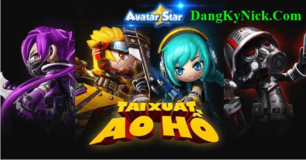 Đăng Ký Tài Khoản Avatar Star Việt Nam 2020