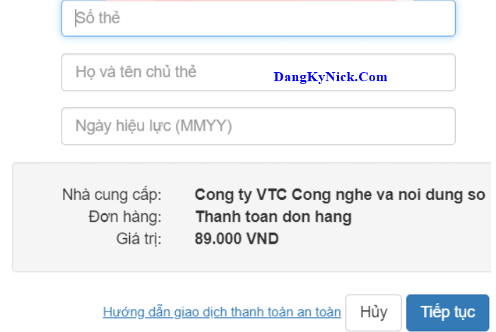 nạp tiền War and Order