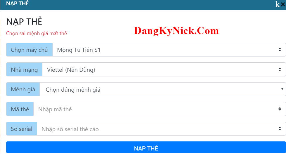 nap the mong tu tien h5