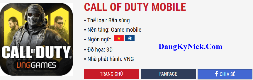 cách nạp call of duty mobile