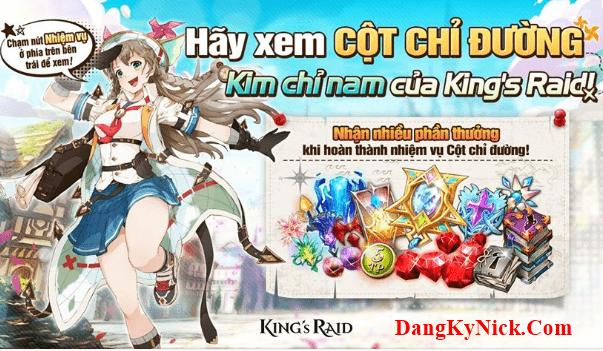 cách nạp thẻ king's raid