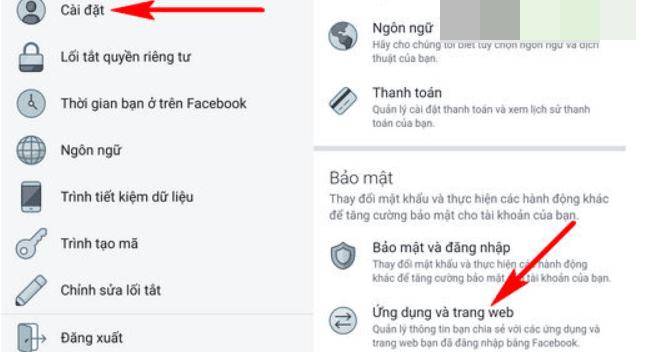 cách hủy liên kết Facebook với Garena liên quân